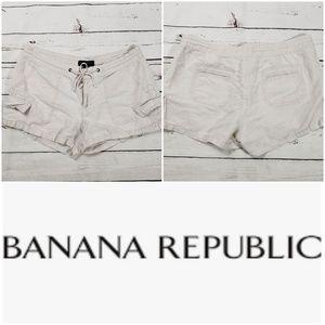 Banana republic linen beach shorts 10